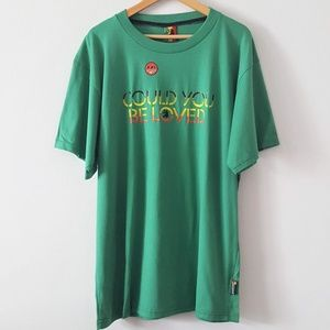 NWOT O'NEILL Could You Be Loved Rasta Jamaican Tee